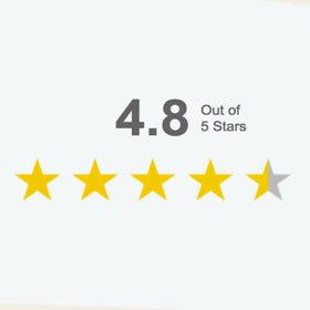 4.8 Rating on Google