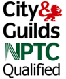 City & Guilds NPTC Qualified